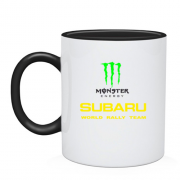 Чашка Subaru monster energy