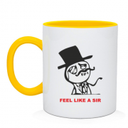 Чашка Feel Like a Sir 2