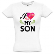 Футболка I love my son (2)