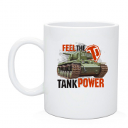Чашка WOT - Feel the tank power