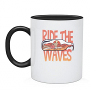 Чашка Ride the Waves Серфинг