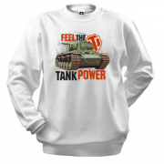 Свитшот WOT - Feel the tank power