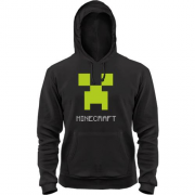 Толстовка Minecraft logo grey