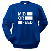 Свитшот Mid or feed