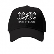 Кепка AC/DC Black in Black