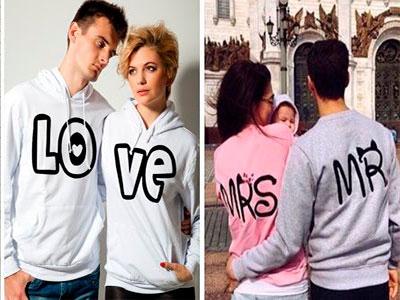 Парные вещи - стильный бренд счастливой семьи
